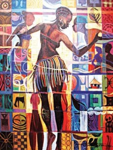 Maiden Dance, one of Adenugba's works.