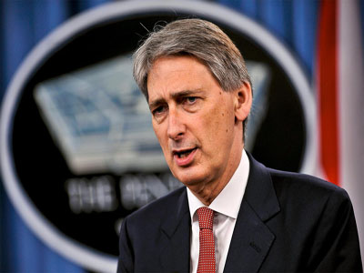 UK defense secretary Philip Hammond. Photo;  digitaltrends