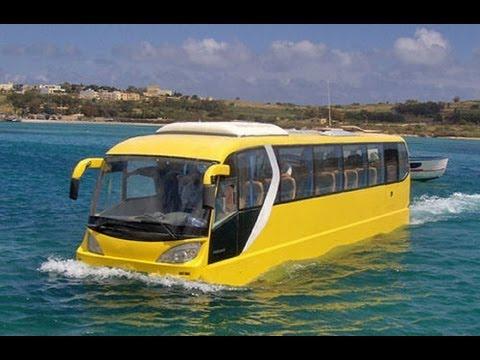 Amphibious tour bus. Photo: Yahoo