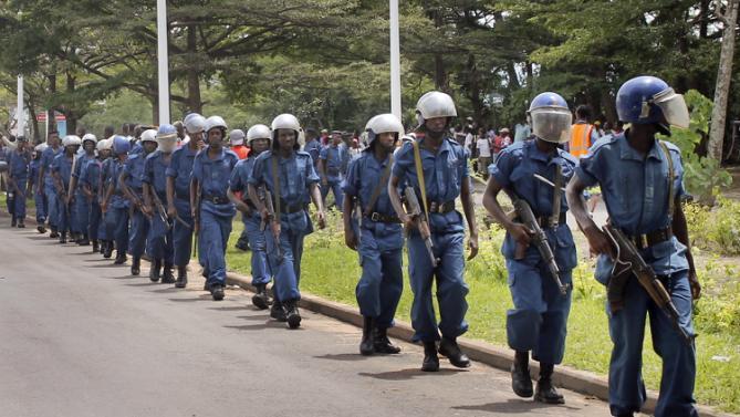 Burundi Police Officials