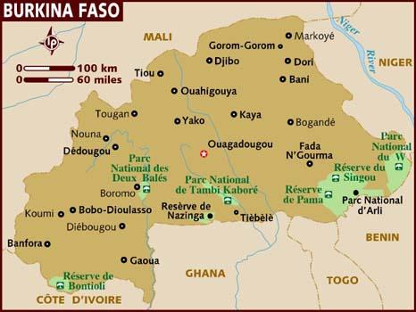 burkina-faso map