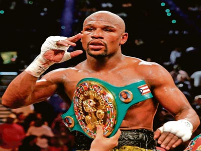 It's my title — Mayweather