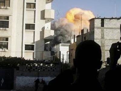 gaza explosion