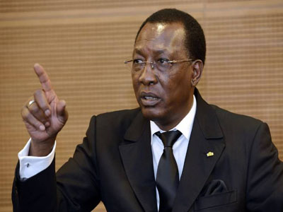 President of Chad, Idriss Deby. Photo- Bellanaija