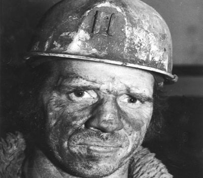 A miner. Photo: geevor