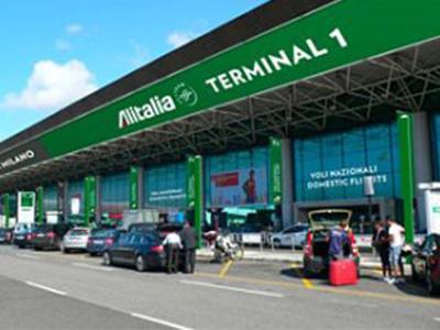 rome airport terminal