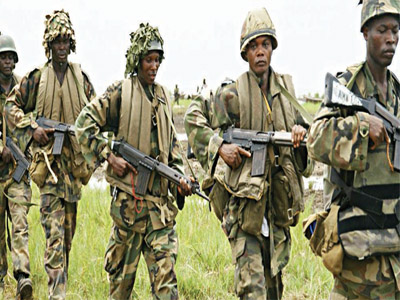 Nigeria army clears sambisa forest