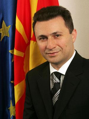 Prime Minister Nikola Gruevsk. Photo; myemail.constantcontact.