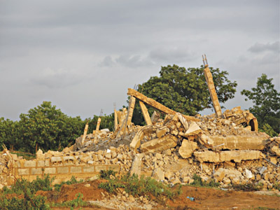 Abuja demolition