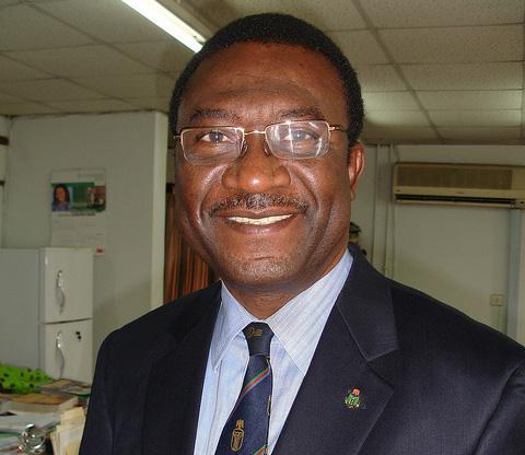 Prof. Akin Osibogun PHOTO: Arend de Jong
