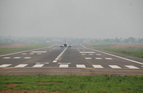 Benin airport runway. Photo; pwlimited