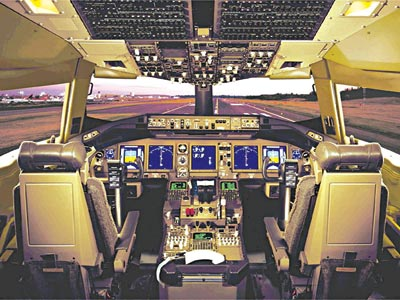 Boeing737 cockpit