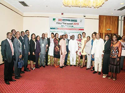 The experts at the 3rd Nigerian Annual Clinical Trial Summit with the theme: 'Advancing Global Clinical Trials In The West African Sub-Region', held recently, in Lagos