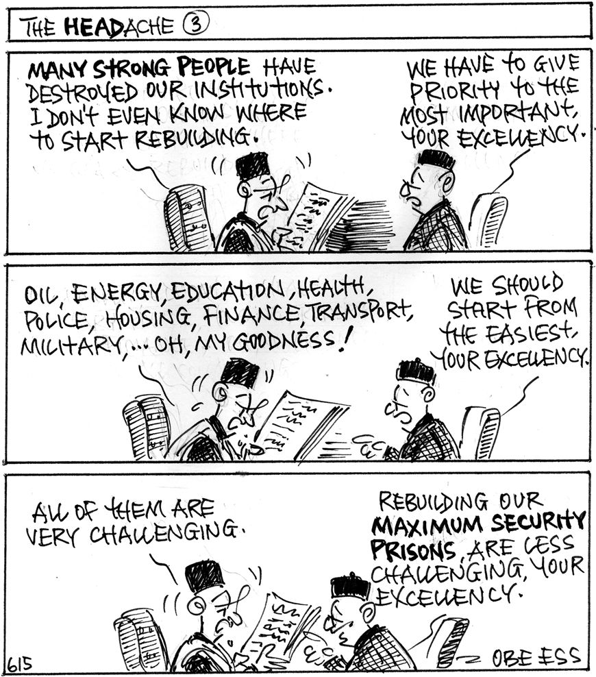 Editorial Cartoon 22-6-15