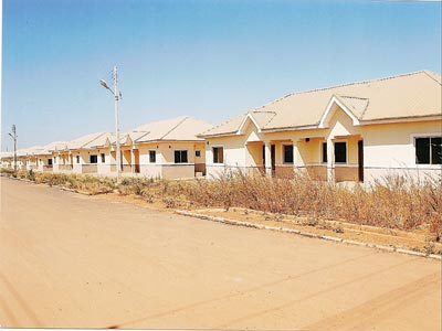 Fha partners firm on abesan housing estate scheme for Fha house plans