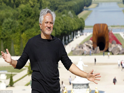 British-Indian contemporary artist Anish Kapoor claimed his Dirty Corner monument represented 'a queen's vagina' taking power