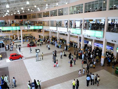 Lagos Airporrt. Photo; wikimedia