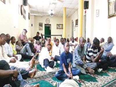 Muslims at the pre-Ramadan talk organised by the Nigerian American Muslim Integrated Community (NAMIC), Brooklyn, New York on June 14, 2015                                                                                                                                        PHOTO: KABIR ALABI GARBA