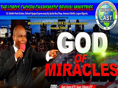 Lord's Chosen Charismatic Revival Ministries
