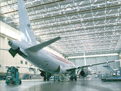 Image result for aircraft maintenance hangar