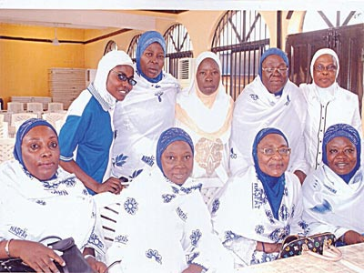 Members of NASFAT Women Wing at the seminar on security