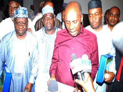 Former governors at the NGF valedictory session