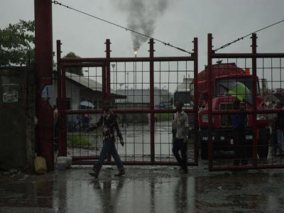 gate of Port harcourt refinery. Photo; wikimedia