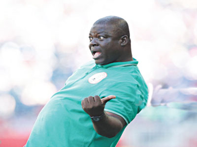 Super Falcons' Coach, Edwin Okon.