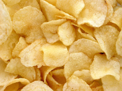 Potato chips... The European Food Safety Authority over the weekend published a study confirming that acrylamide (AA) – which forms when foods are cooked at a high temperature – is a cancer risk     PHOTO CREDIT: google.com