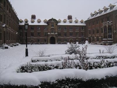 St. Catharine's College. Photo; wikimedia
