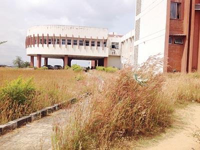 Unkept Workers' Secretariat in Jalingo Taraba State capital