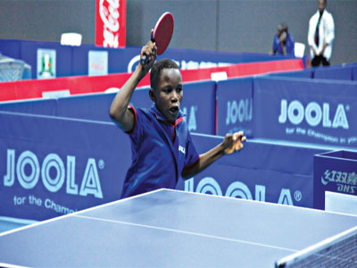 Abayomi Animashaun won a gold medal at the just concluded ITTF World Junior Circuit (WJC) in Egypt.