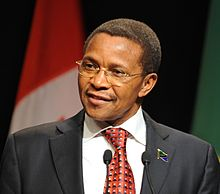 Tanzania President, Jakaya Kikwete