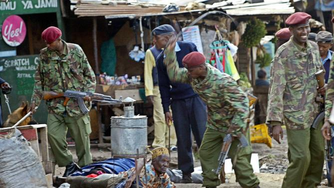 kenya police whipping