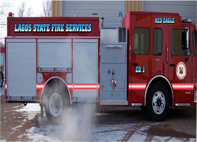 Darley Fire Truck for Lagos State Fire Service