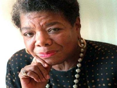 Maya Angelou . Photo; atlantablackstar