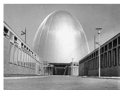 Germany's oldest nuclear reactor. Photo; dw
