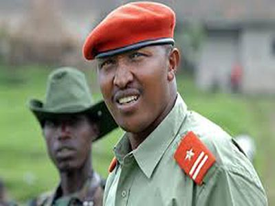 "The war crimes trial of Congolese former warlord Bosco Ntaganda, nicknamed ""The Terminator"". Photo: mobile.nation"
