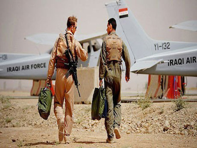 Iraqi airforce. PHOTO: rudaw.net