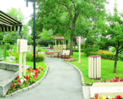 3. Healing garden, all the paths are paved making the entire garden wheelchair accessible Copy