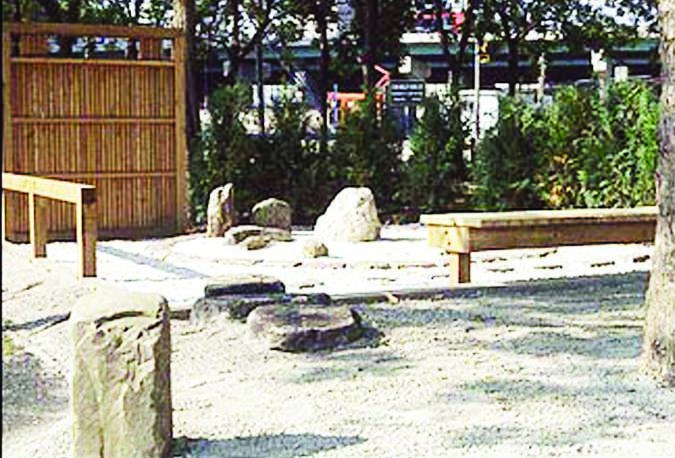 6. View of seating area of a Zen Garden Copy