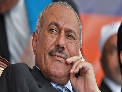 Former Yemeni President Ali Abdullah Saleh (Photo: Reuters)