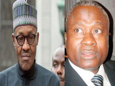Buhari & Alhaji Ahmed Idris