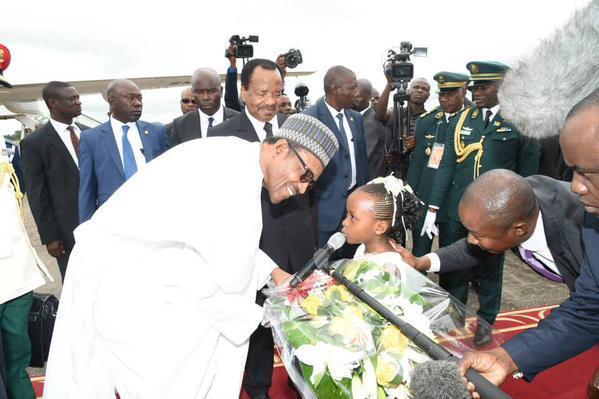 Buhari in Cameroon 3