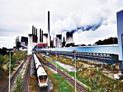 Industrial pollution in Germany