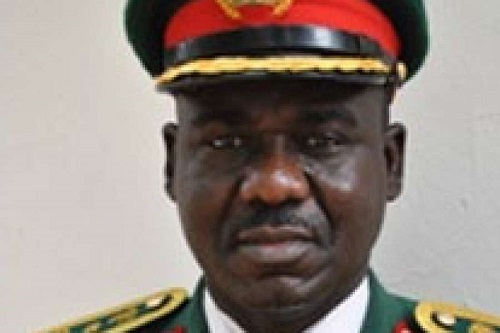 Chief of Army Staff, Major-General T. Y. Buratai