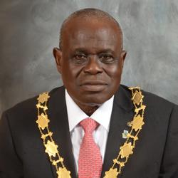 The President, Otunba Olufemi Deru. Photo: icanig