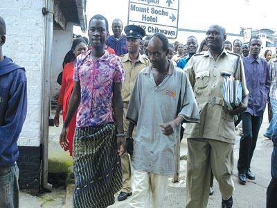 Malawian gay couple arrested in december 29, 2009