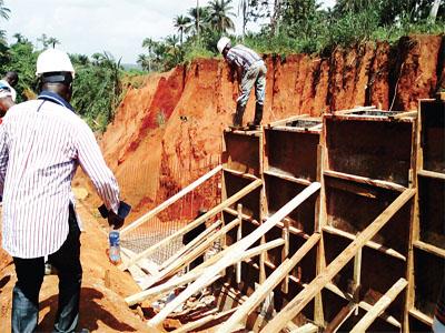 Erosion site in Imo