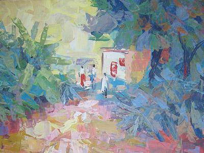 Journey in Acrylic